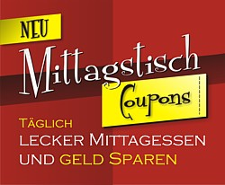 Aktion: Mittagstisch Coupons